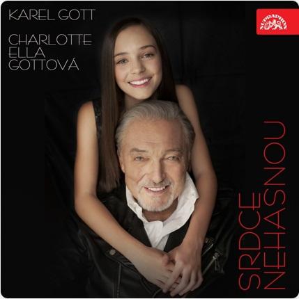 NOVINKA! KAREL GOTT & CHARLOTTE ELLA GOTTOVÁ(Srdce nehasnou)